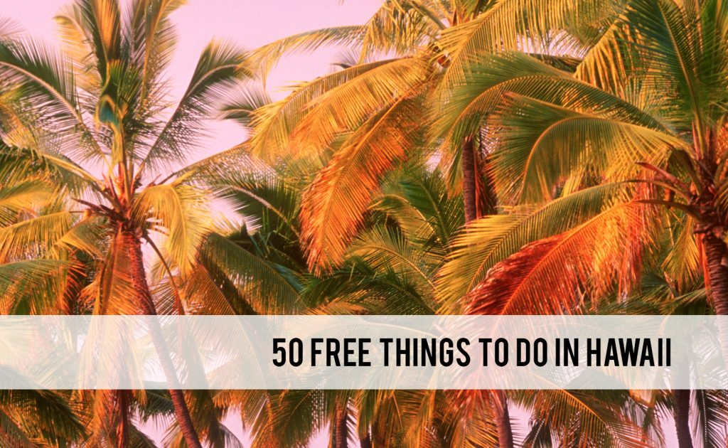 free things to do in Hawaii
