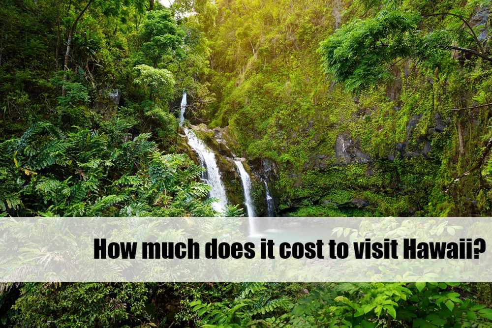 how much does it cost to visit Hawaii?