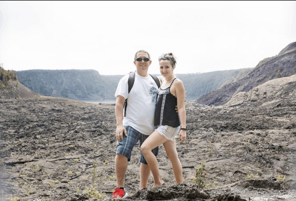 hiking the Kilauae Iki Trail on the Big Island