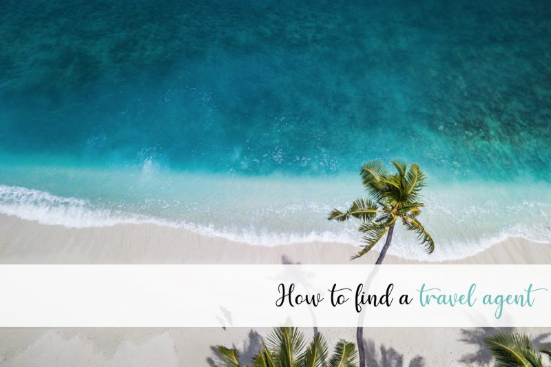 how to find a travel agent