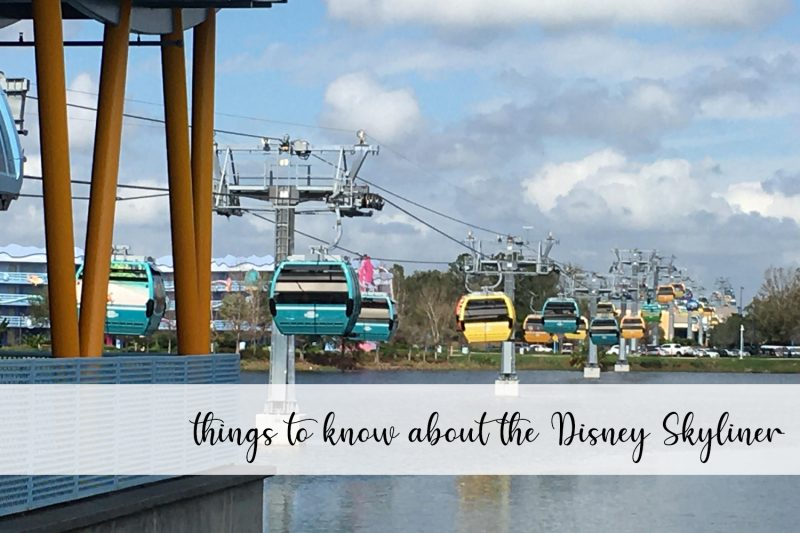 things to know about the Disney skyliner
