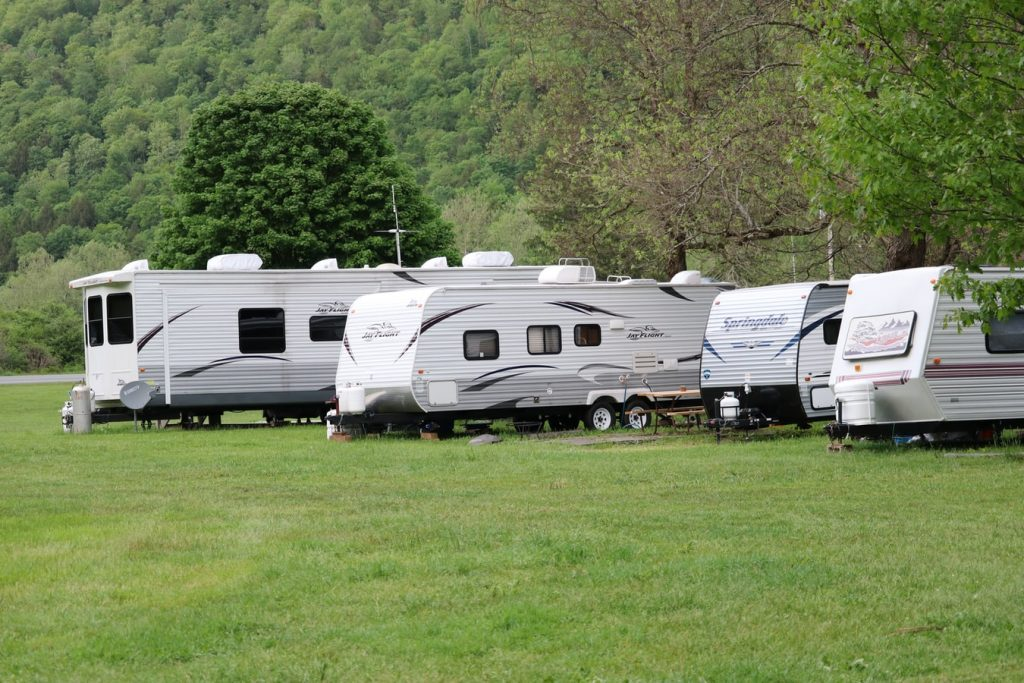 how to take an RV vacation