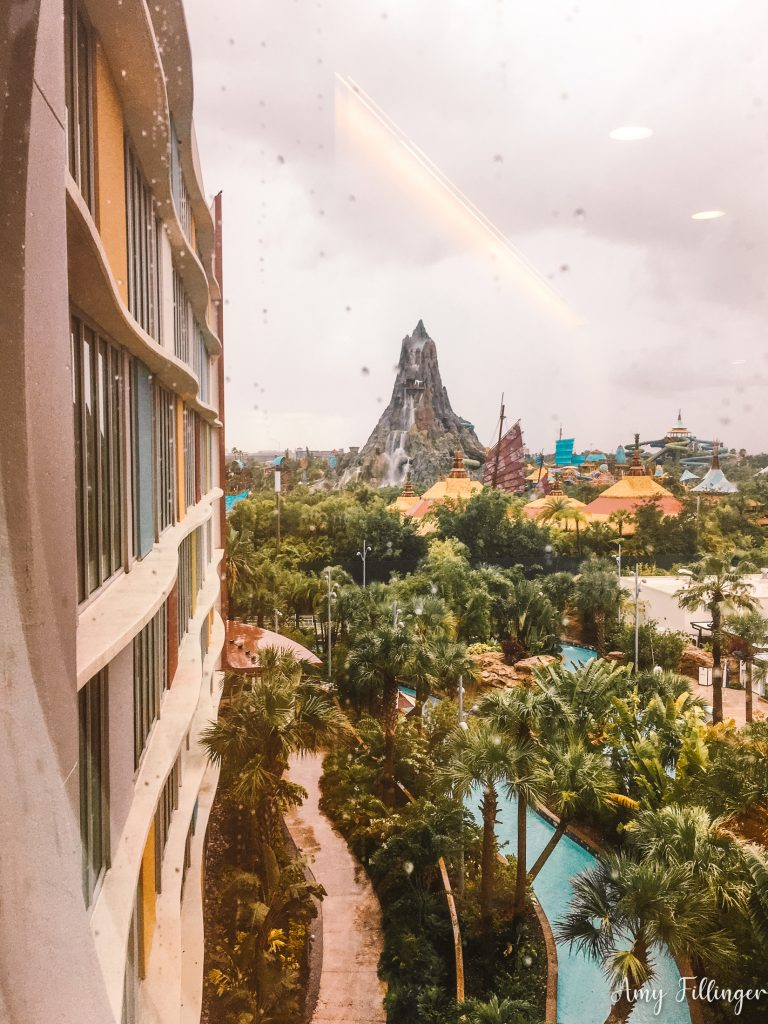 Cabana Bay Resort Volcano Bay view
