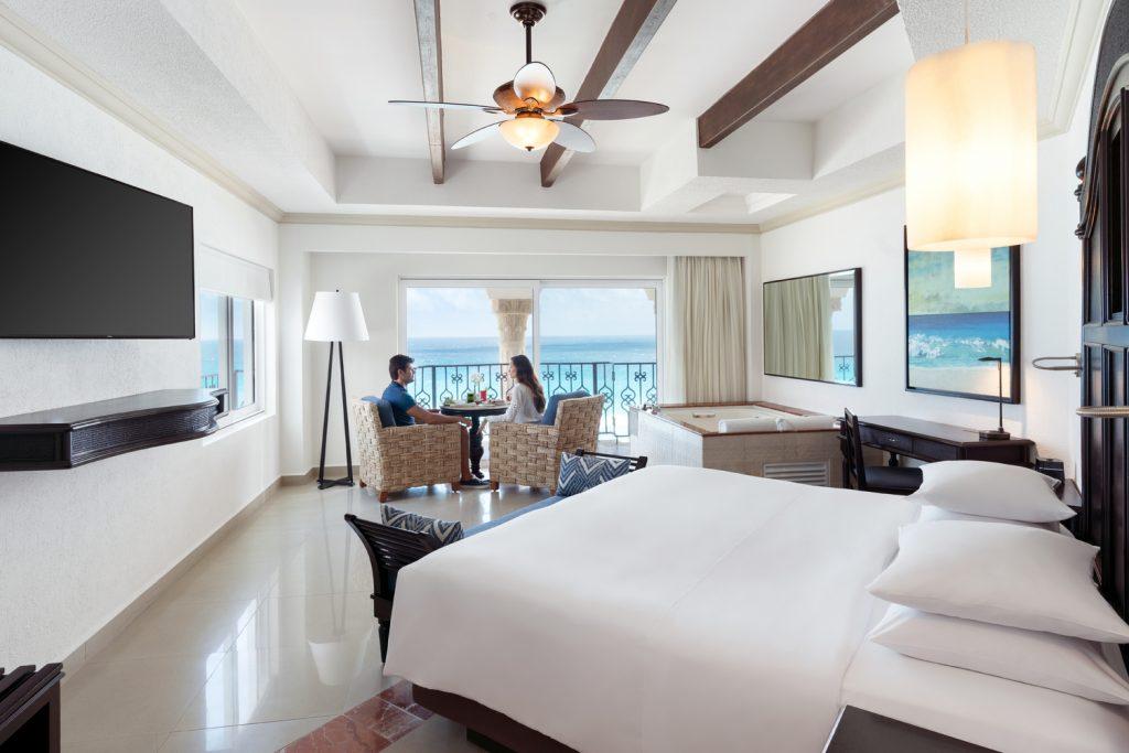 rooms at the Hyatt Zilara Cancun