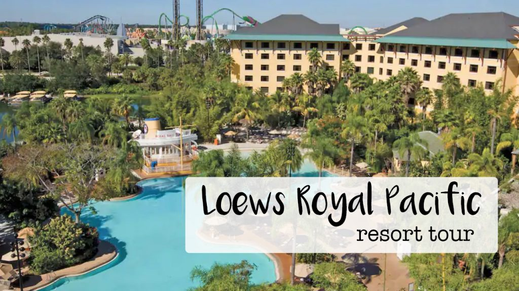 Loews Royal Pacific Resort Tour