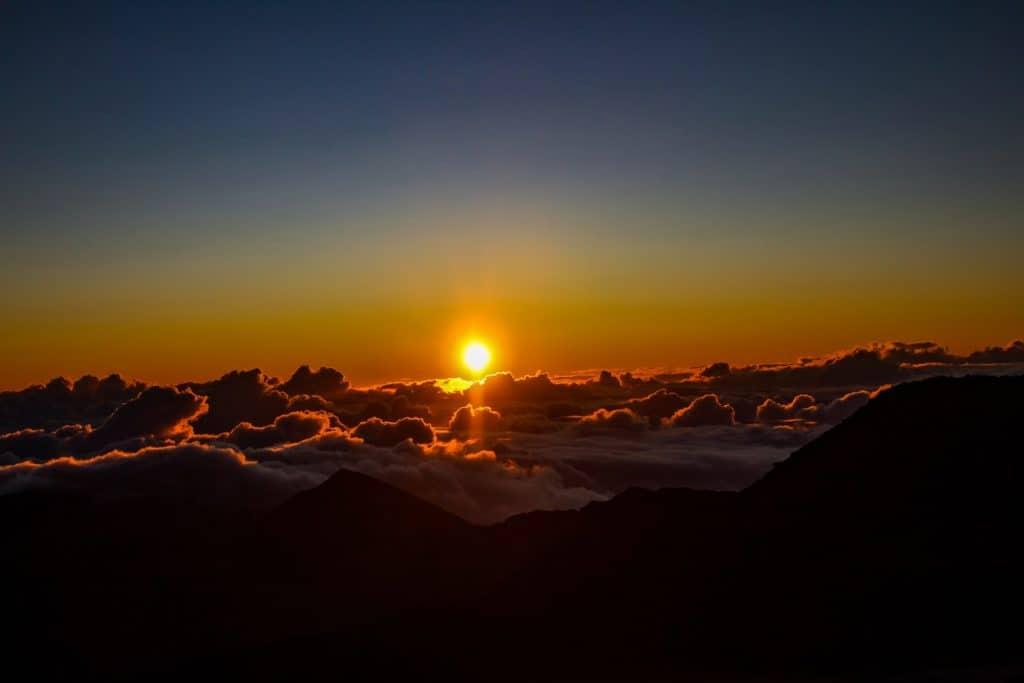Haleakala Sunset the best Hawaii sunset