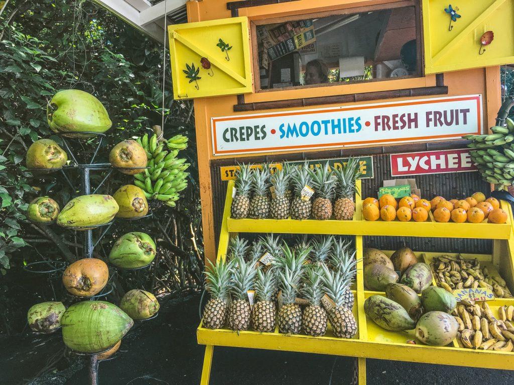 Hawaiian fruit