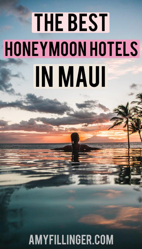 honeymoon hotels in Maui