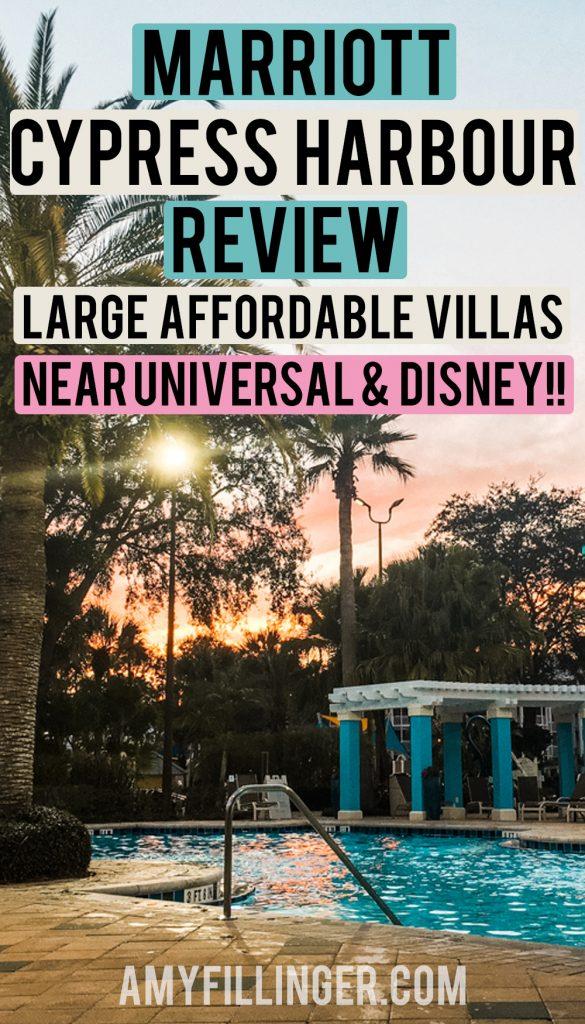 Marriott Cypress Harbour Villas Review