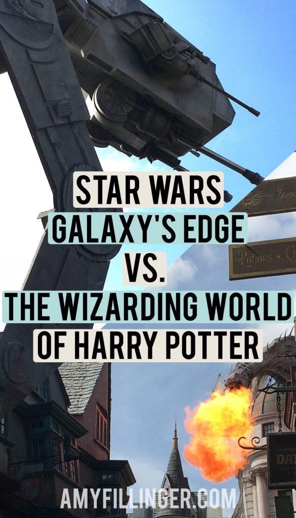 Galaxy's Edge vs. The Wizarding World of Harry Potter