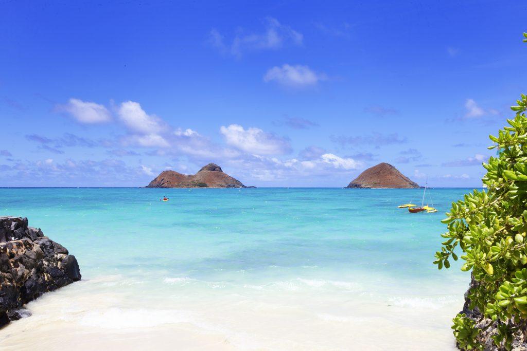 Mokulua islands best Oahu snorkeling