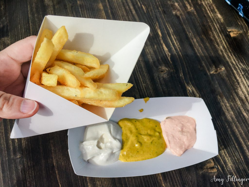 gluten-free fries at Universal